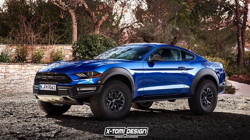 Ford Mustang Raptor 5.0