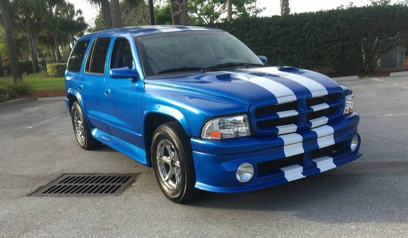 Illustration for article titled For $12,500, Would You Buy Dee Snider's 1999 Shelby Durango SP360?
