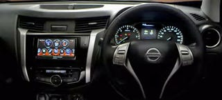 Illustration for article titled 2015 Nissan Frontier Interior Looks More Like A Car Than A Pickup Truck