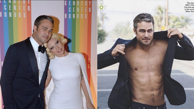Illustration for article titled Lady Gaga Is Engaged to the Smoldering Actor Taylor Kinney