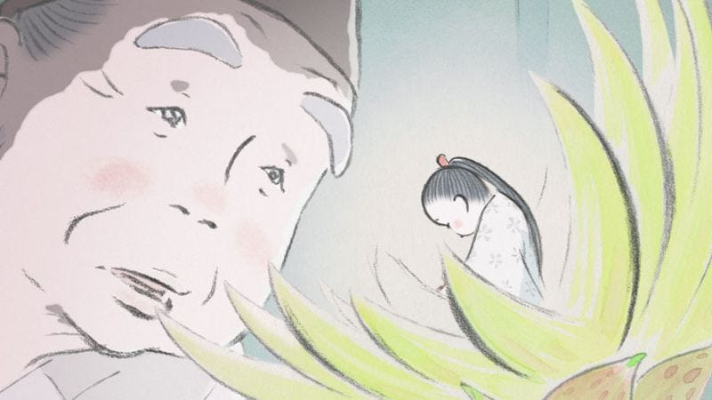 Illustration for article titled Studio Ghibli delivers a new masterpiece with The Tale Of The Princess Kaguya
