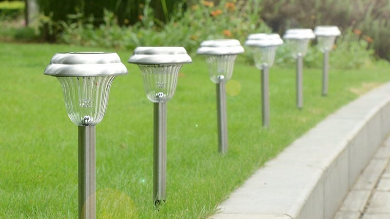 6-Pack Ohuhu Solar Path Lights, $20 with code 7BUSABHG