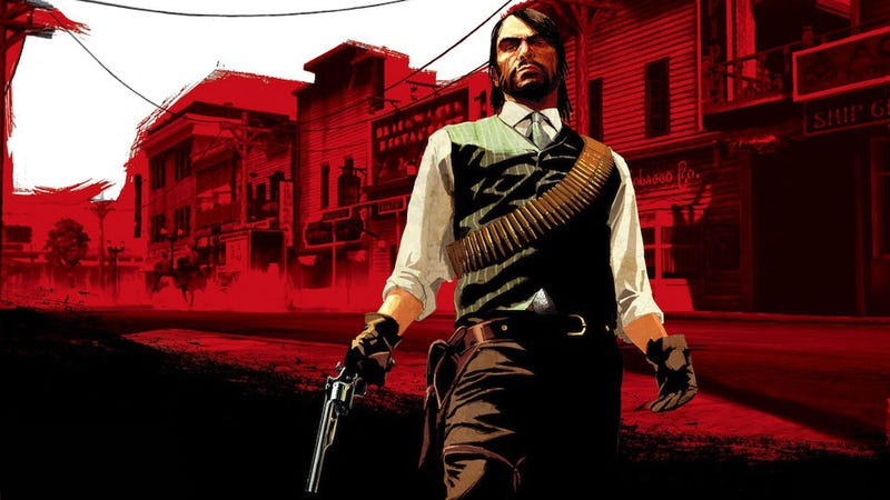 "Illustration for article titled This Sure Wasn't The Way I Expected Red Dead Redemption 10 To Be ""Announced"""