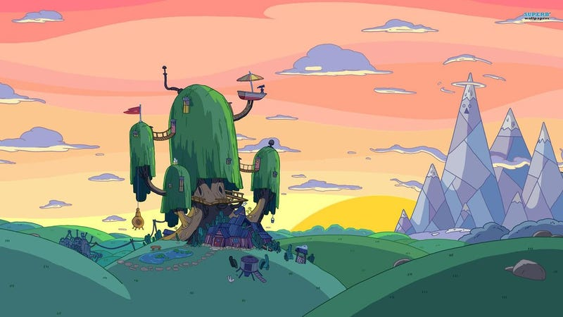 Illustration for article titled Man, Adventure Time Is Beautiful