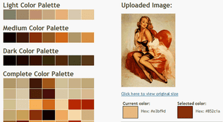 Illustration for article titled Create a Color Palette from a Single Image