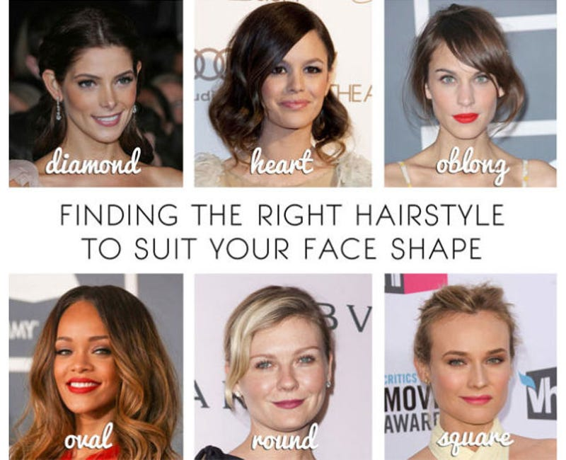 How to find a hairstyle that fits you best hairstyles 2017 top 10 ways to look better based on your body shape and face urmus Image collections