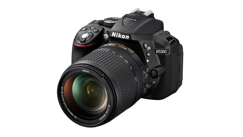 Illustration for article titled Nikon D5300: A Mid-Range DSLR With a New Image Sensor, Wi-Fi,  GPS