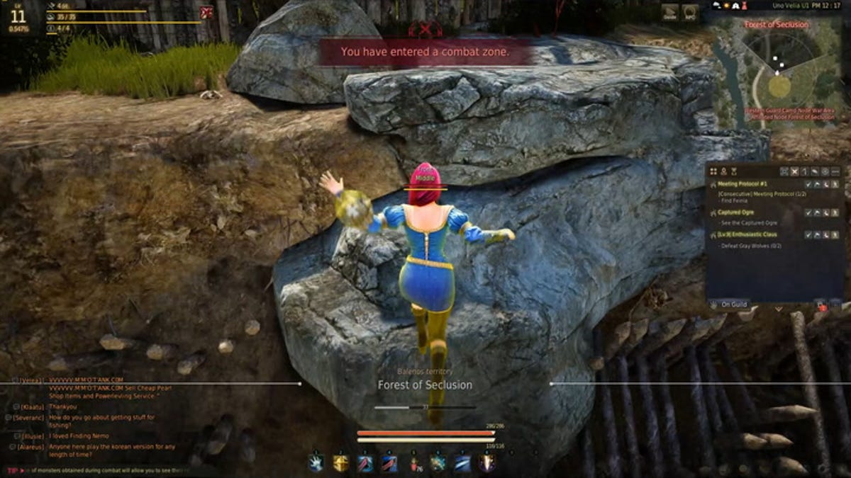 Black Desert Online's Dynamic Movement Defies MMO Expectations