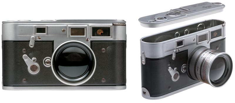 Illustration for article titled You Can Easily Afford This Vintage Leica Camera That's Secretly a Candy Tin
