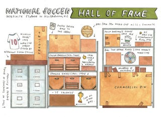 Illustration for article titled Remote Warehouse Contains More U.S. Soccer History Than Anyplace Else
