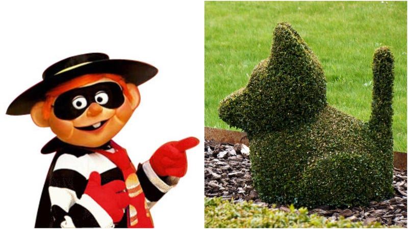 """Illustration for article titled Woman who brazenly stole dog topiary from Brooklyn bakery thought it was""""harmless"""""""