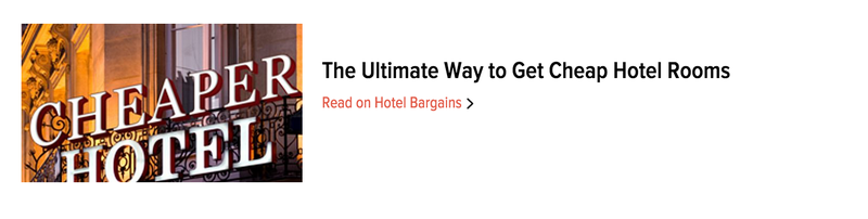 Illustration for article titled Cheap hotel