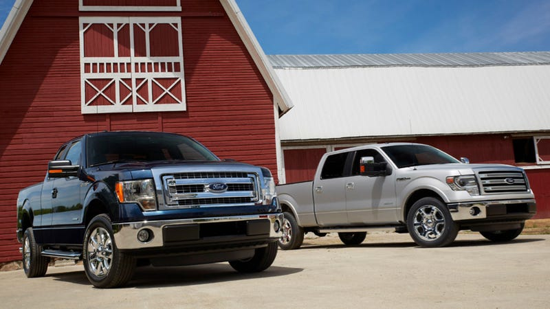 Illustration for article titled The 2013 Ford F-150 Is The 2012 F-150 With More Sync