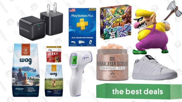 Wednesday s Best Deals: iPhone 12 Chargers, Wag Dog Food, PlayStation Plus, Himalayan Scrub Salt, K-Swiss Sneakers, Avengers Stormbreaker Axe, and More