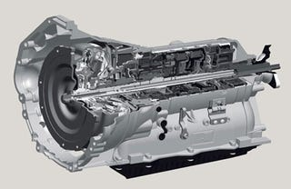 Illustration for article titled Six is for Peasants: ZF Unveils 8-Speed Automatic