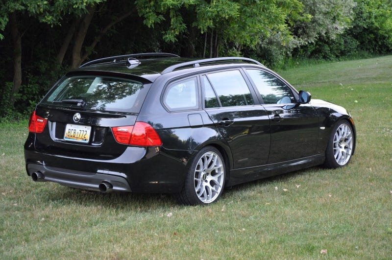 This BMW Series Wagon With A Turbo Swap Is Selling For A - Bmw 3 series diesel wagon
