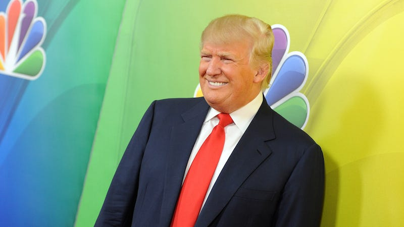 Illustration for article titled NBC Was Just Kidding About Severing Ties With Trump, Welcomes Their Good Boy Back