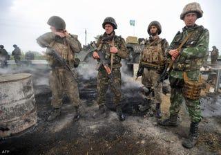 Illustration for article titled Ostromállapot Kelet-Ukrajnában