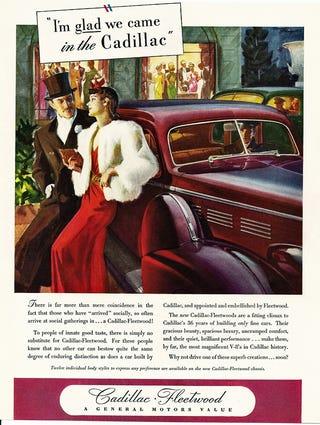 Illustration for article titled Vintage Cadillac Ads