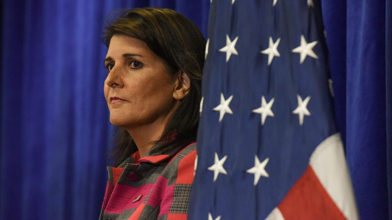 Illustration for article titled Nikki Haley Resigning at the End of the Year
