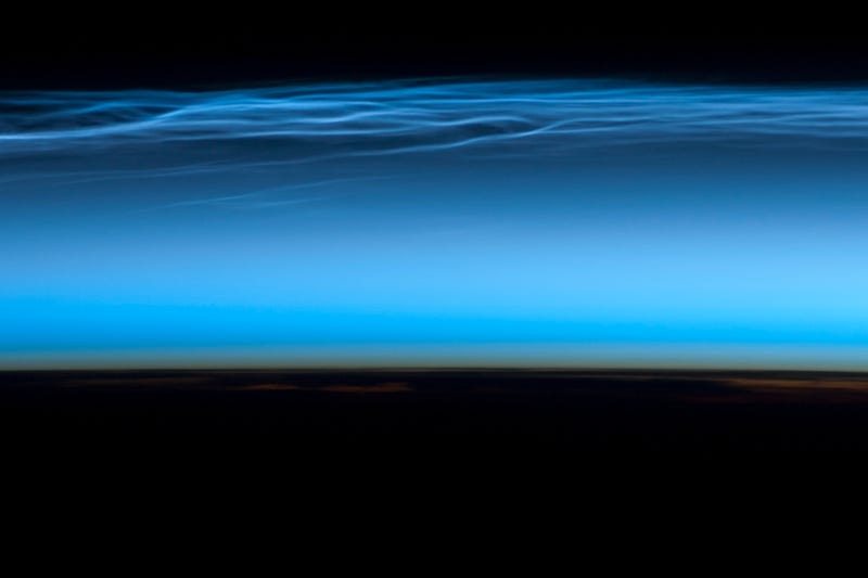 Illustration for article titled These remarkable clouds look even more incredible from the ISS