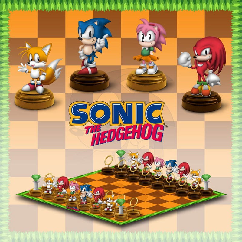Illustration for article titled Sonic The Hedgehog, The Chessboard