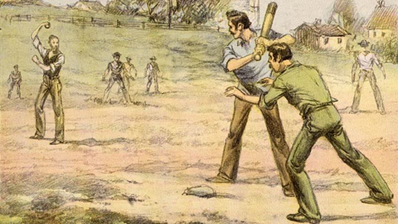 Illustration for article titled Obsessive Freak Abner Doubleday Forces Locals To Play Nonsensical Game