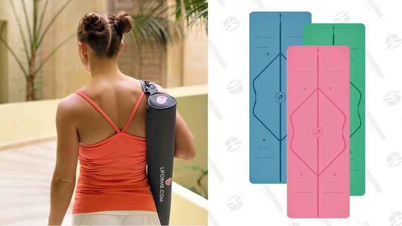 Liforme Yoga Mat Gold Box | $100-120 | Amazon