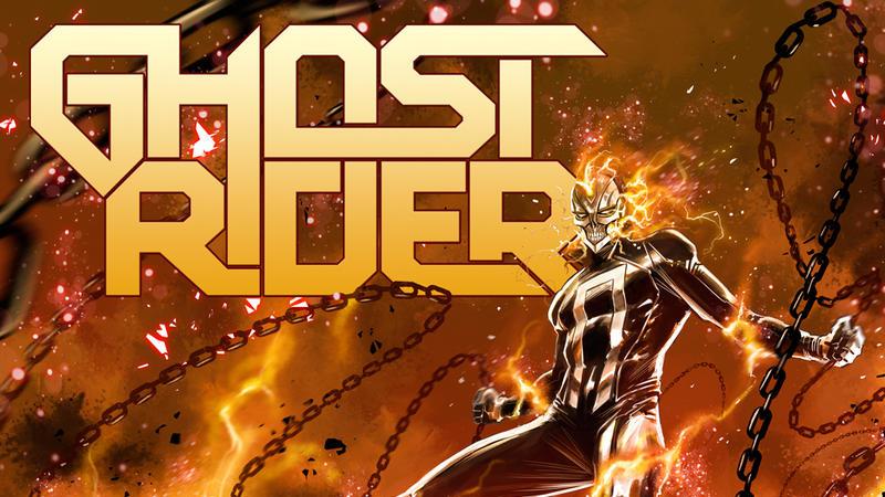 Ghost Rider #1 cover art by Marco Checchetto