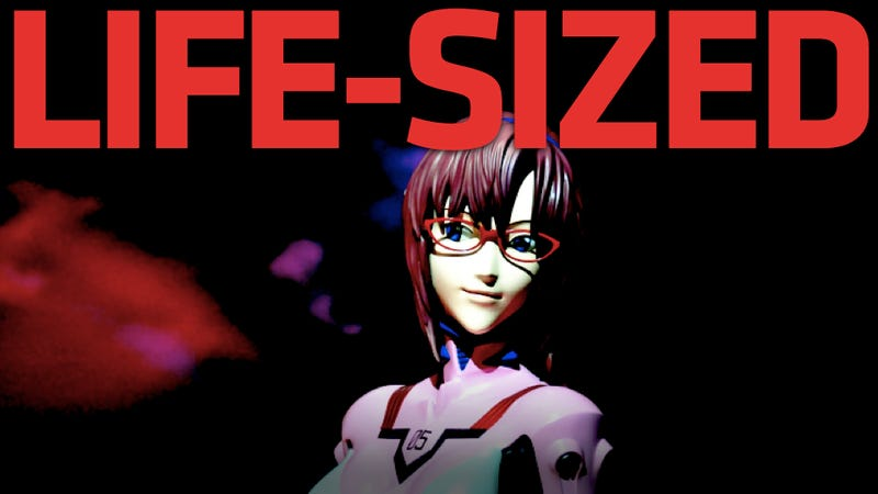 Illustration for article titled Neon Genesis Evangelion's Most Illustrious Character Recreated