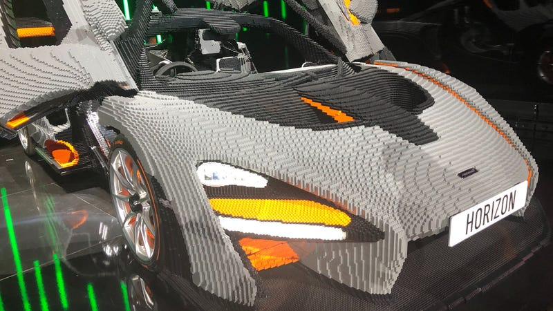 It Took Over 400,000 Lego Bricks To Build This Car