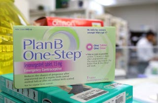 A package of Plan B contraceptiveJustin Sullivan/Getty Images