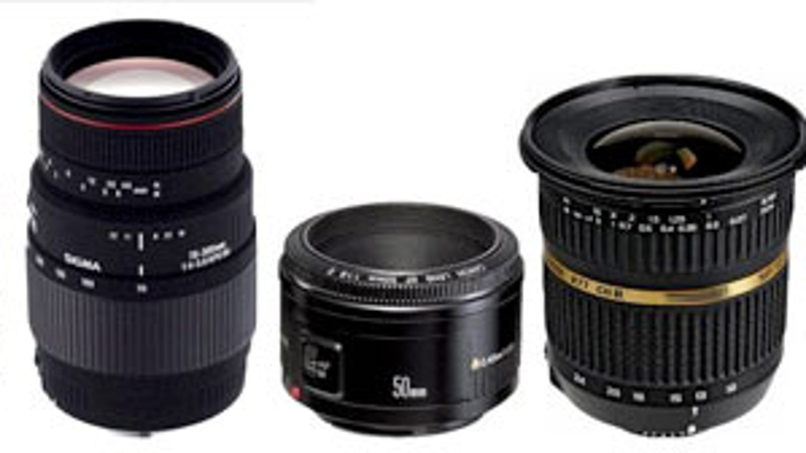 The 3 DSLR Lenses You Need (and 2 More You\'ll Crave)