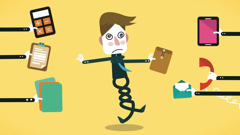 Illustration for article titled Seven Strategies for Regaining Your Focus in a Hectic Workplace