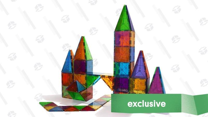 100-Piece Magna-Tiles Set | $110 | Daily Steals | Promo code KJTILES