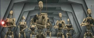 Illustration for article titled Robot Shall Rise Up Against Robot In This Week's Clone Wars