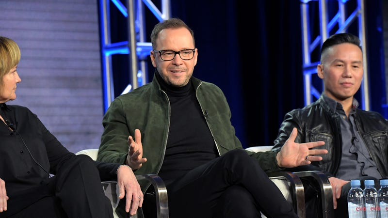 Donnie Wahlberg is eager to talk to you about some Very Scary People