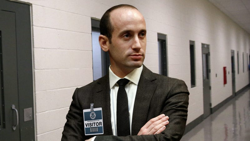 Illustration for article titled Stephen Miller Rewards Self After Day Of Speechwriting With Trip To See Children In Local ICE Detention Center