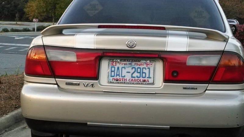 Illustration for article titled Who Knew? Mazda Protege V4!