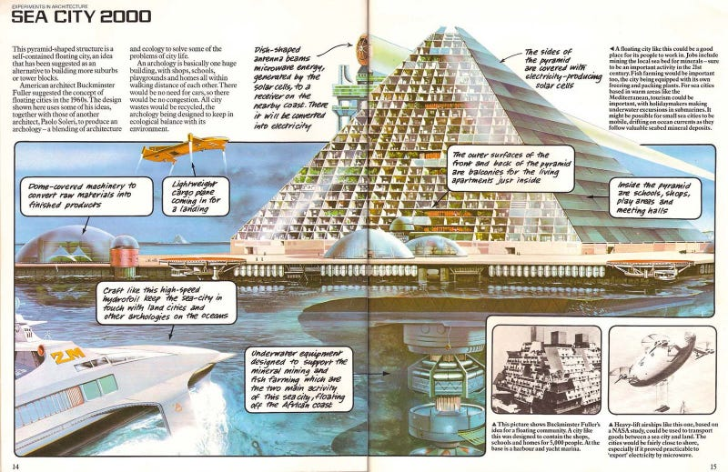 Illustration for article titled Sea City 2000 (1979)