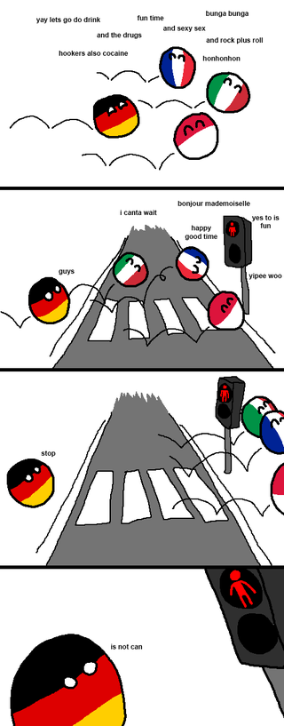 Illustration for article titled Daily Polandball: Rules are of Important.