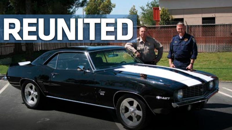 Illustration for article titled Stolen Camaro returned 36 years later