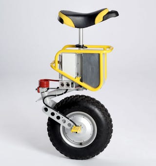 Illustration for article titled Self-Balancing eniCycle is Like a Segway for the Circus