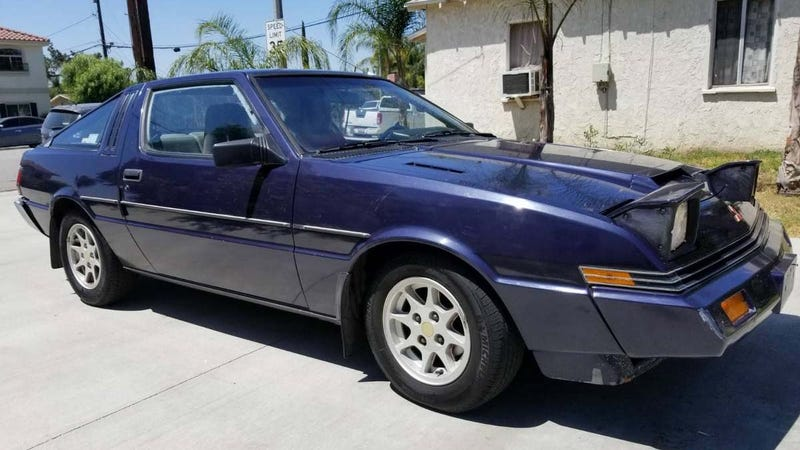 Illustration for article titled You Are All Fools For Not Buying This Purple Mitsubishi Starion