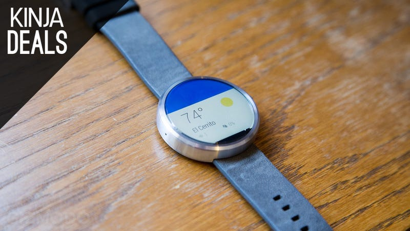 Illustration for article titled Snag a First Gen Moto 360 For $100, While You Can