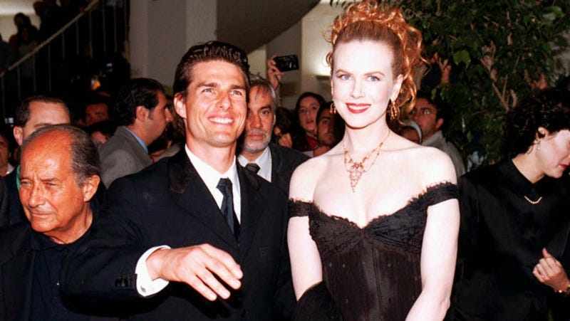 In An Interview With The Evening Standard Nicole Kidman Said That She Doesn T Regret Her Marriage To Scientologist Tom Cruise I Was A Baby When Married