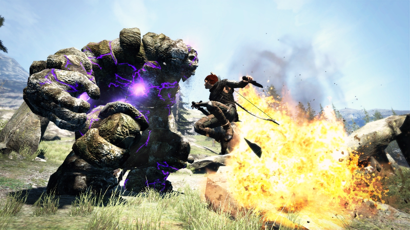 Illustration for article titled The Laser-Shooting Golem of Dragon's Dogma