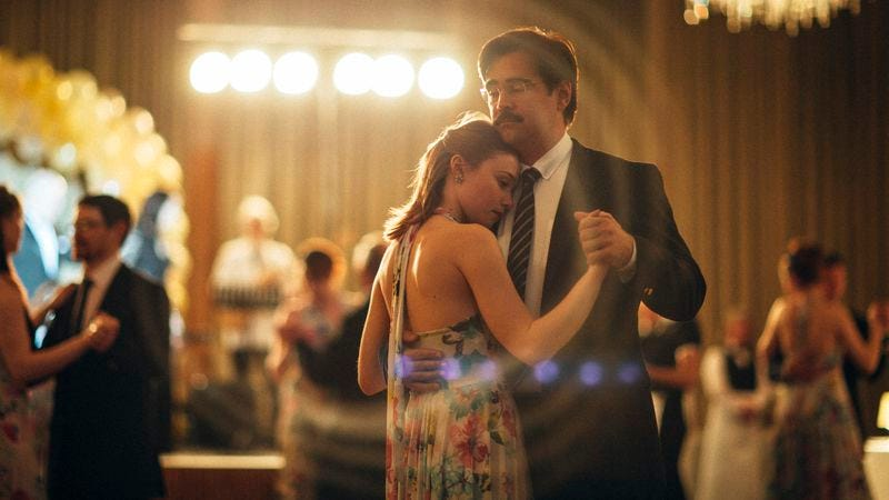 Colin Farrell goes full-on frumpy in the darkly deadpan The Lobster