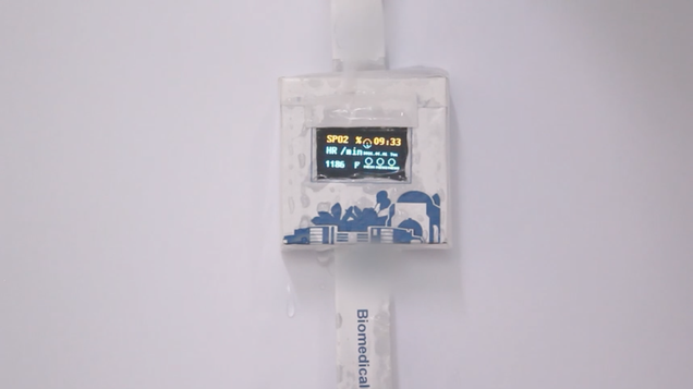 This Dissolvable Smartwatch Is a Clever Way to Battle E-Waste