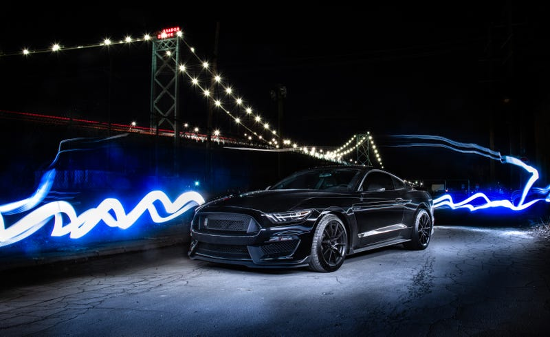 Illustration for article titled Your Ridiculously Awesome Ford Mustang GT350 Wallpaper Is Here